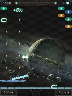 Mobile game Arkanoid: Reloaded - screenshots. Gameplay Arkanoid: Reloaded.