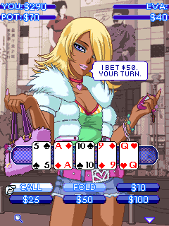 Download free mobile game: Sехy poker manga - download free games for mobile phone.