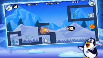 Jeu mobile Le Pingouin sur la Glace 2 - captures d'écran. Gameplay Frozen penguin 2.