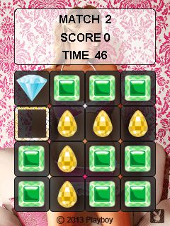 Download free game for mobile phone: Playboy jewels - download mobile games for free.