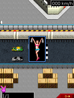 Jeu mobile Playboy: Les Courses - captures d'écran. Gameplay Playboy: Racing.