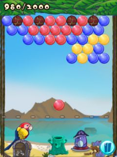 Jeu mobile Les Boules Folles - captures d'écran. Gameplay Bubble frenzy.