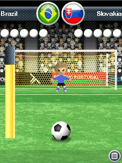 Download free game for mobile phone: Penalty Ronaldo 3D - download mobile games for free.