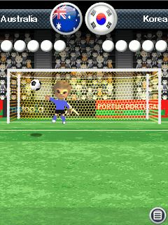 Jeu mobile Les Penalty de Ronaldo 3D - captures d'écran. Gameplay Penalty Ronaldo 3D.
