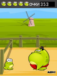 Download free mobile game: Tap the frog: Run - download free games for mobile phone.