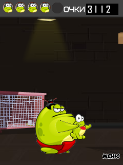 Mobile game Tap the frog: Run - screenshots. Gameplay Tap the frog: Run.