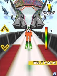 Jeu mobile Les Saut de Ski 2014 - captures d'écran. Gameplay Ski jumping 2014.