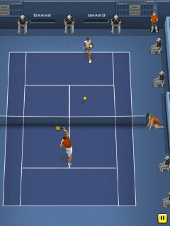 Mobile game Pro tennis 2014 - screenshots. Gameplay Pro tennis 2014.