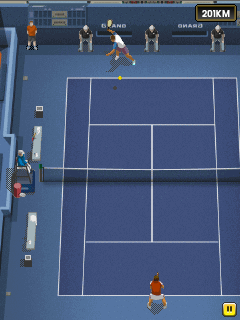 Download free game for mobile phone: Pro tennis 2014 - download mobile games for free.