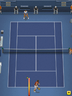 Download free mobile game: Pro tennis 2014 - download free games for mobile phone.