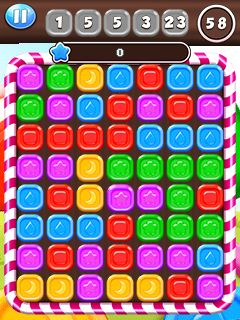 Download free game for mobile phone: Candy king - download mobile games for free.