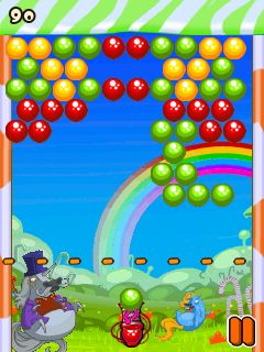 Download free game for mobile phone: Bubbles and unicorns - download mobile games for free.