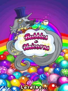Bubbles and unicorns