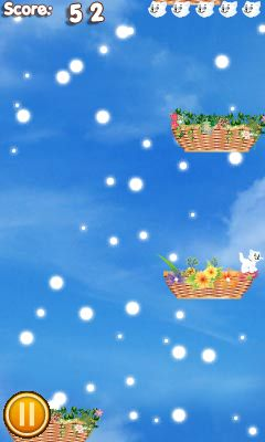 Jeu mobile Le Panier du Chat - captures d'écran. Gameplay Cat basket.