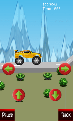 Download free game for mobile phone: Hilli climbing car - download mobile games for free.