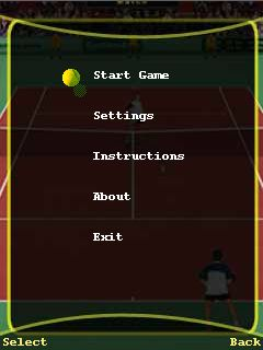 Download free mobile game: Tennis: The game - download free games for mobile phone.