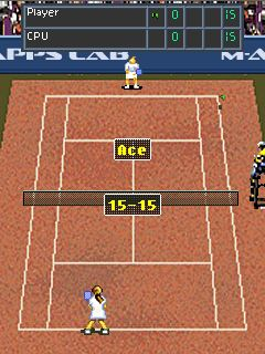 Download free game for mobile phone: Tennis: The game - download mobile games for free.