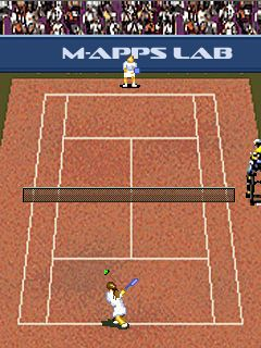 Jeu mobile Le Tennis: le jeu - captures d'écran. Gameplay Tennis: The game.