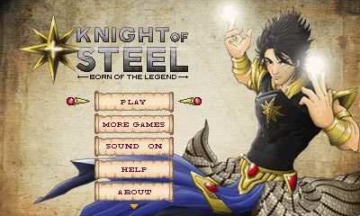 Download free mobile game: Knight of steel - download free games for mobile phone.