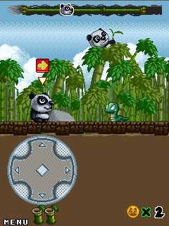 Download free game for mobile phone: Crash panda - download mobile games for free.