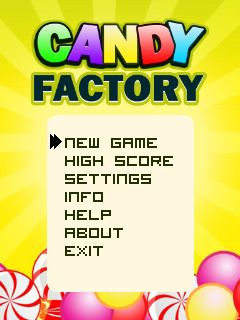 Download free mobile game: Candy factory - download free games for mobile phone.