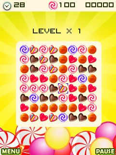 Download free game for mobile phone: Candy factory - download mobile games for free.