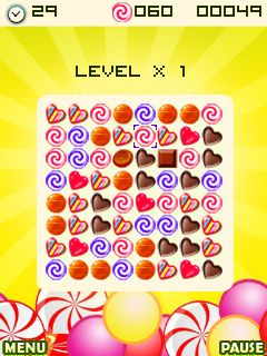 Mobile game Candy factory - screenshots. Gameplay Candy factory.