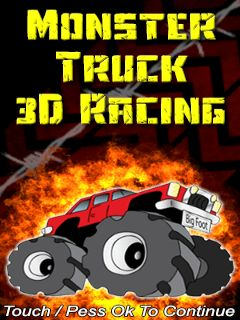 Monster truck 3D racing