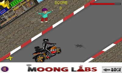 Mobile game Bike stunt 3D - screenshots. Gameplay Bike stunt 3D.