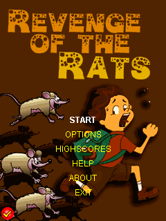 Download free mobile game: Revenge of the rats - download free games for mobile phone.