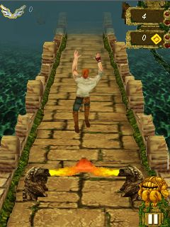 Mobil-Spiel Temple Run (Mod) - Screenshots. Spielszene Temple run (Mod).