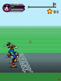 Download free game for mobile phone: Mickey & friends: Skating frenzy - download mobile games for free.