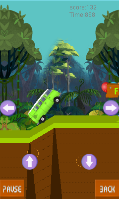 Mobile game Bus tracking - screenshots. Gameplay Bus tracking.