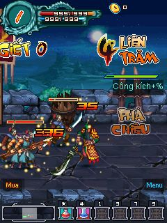 Скриншот java игры Disorders of the three kingdoms. Игровой процесс.