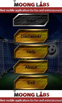 Download free mobile game: Penalty kick soccer - download free games for mobile phone.