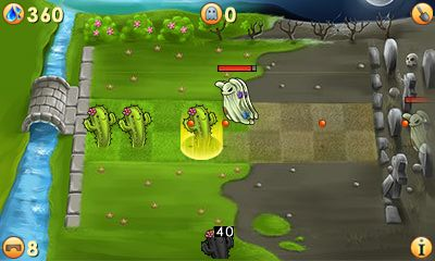 Download free mobile game: Plants vs ghosts 2 - download free games for mobile phone.