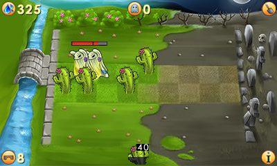 Download free game for mobile phone: Plants vs ghosts 2 - download mobile games for free.