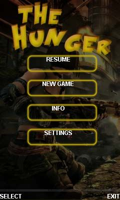 Download free mobile game: The hunger - download free games for mobile phone.