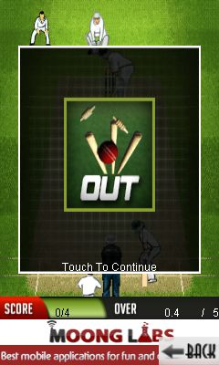 Mobile game Cricket: Master blaster - screenshots. Gameplay Cricket: Master blaster.