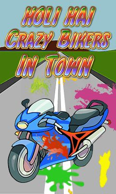 Holi hai: Crazy bikers in town