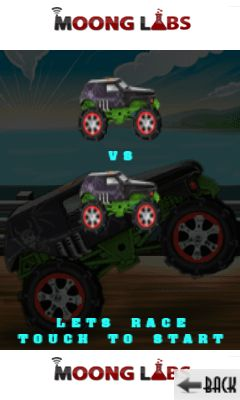 Jeu mobile Monstre: Drag courses - captures d'écran. Gameplay Monster: Drag race.