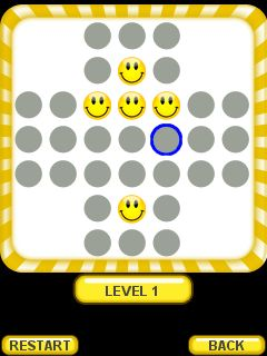 Jeu mobile Jeu des dammes - captures d'écran. Gameplay Checkers.