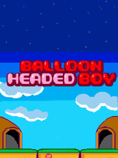 Balloon headed boy