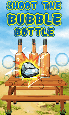 Shoot the bubble bottle