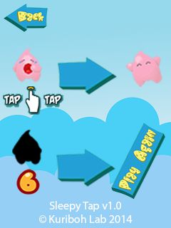 Download free mobile game: Sleepy tap - download free games for mobile phone.