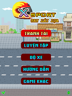 Download free mobile game: X sport: Hand drive - download free games for mobile phone.