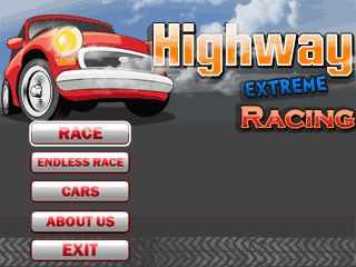Download free mobile game: Highway extreme racing - download free games for mobile phone.