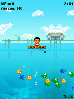 Download free mobile game: Fishing - download free games for mobile phone.