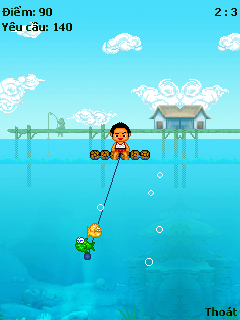 Download free game for mobile phone: Fishing - download mobile games for free.