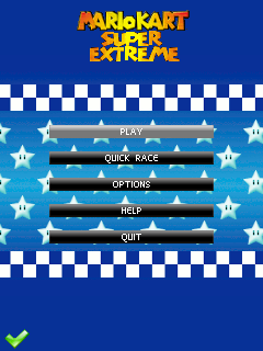 Download free mobile game: Mario kart: Super extreme - download free games for mobile phone.